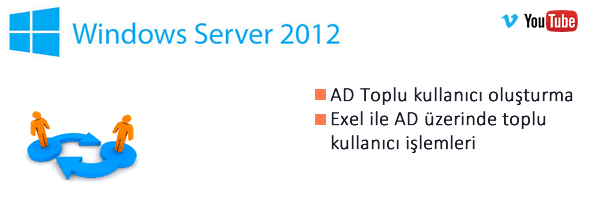 AD Çoklu kullanıcı ekleme-Adding Multiple Users to Active Directory using PowerShell 2