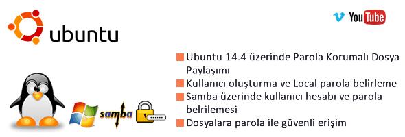 Ubuntu 14.4 Samba üzerinde Parola Korumalı Dosya Paylaşımı 34