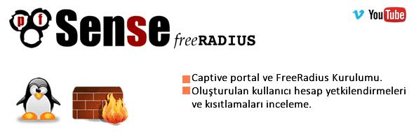 PfSense FreeRadius ve Captive portal kurulumu 9