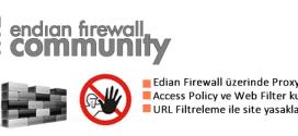 Endian Firewall URL Filtreleme 4