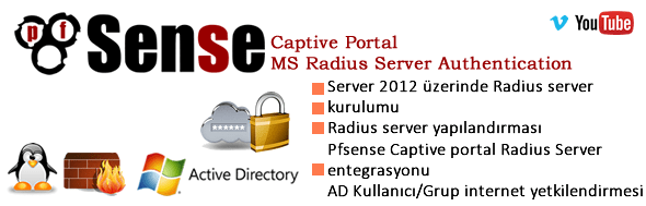 Pfsense Captive Portal+Radius Server+Active Directory Authentication 37