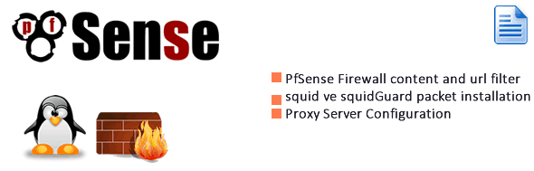 Pfsense content and URL Filtering – Section 1 Proxy Server 1