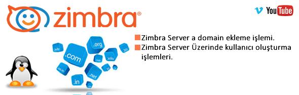 Zimbra Mail Server Domain Adı Ekleme 36