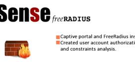 Pfsense Captive Portal and FreeRadius Entegration 1