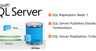 SQL Server Replikasyon Bölüm-1 1
