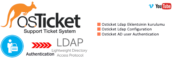Osticket Active Directory(Ldap) Authentication