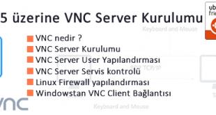 Vnc server Kurulumu
