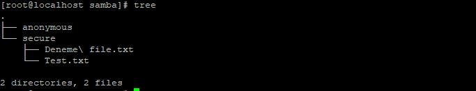 Samba directory