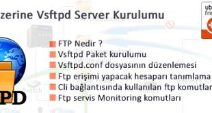 Centos 7 üzerine vsFTP Kurulumu ve Yönetimi 2