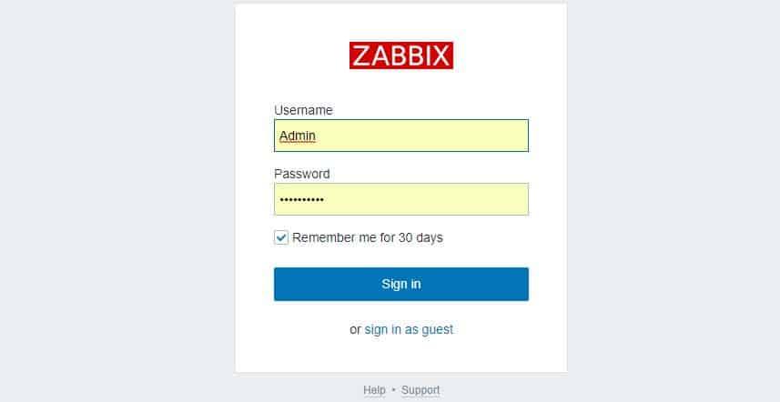 Centos 7 üzerine Zabbix 4.2 kurulumu 12