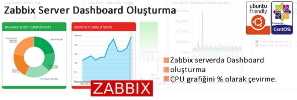Zabbix Dashboard oluşturma işlemleri 1
