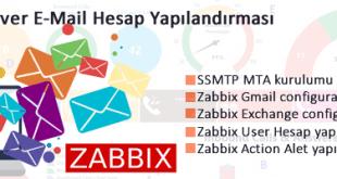 Zabbix E-mail Ayarlarının Yapılandırılması 16