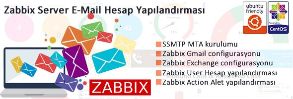 Zabbix E-mail Ayarlarının Yapılandırılması 95