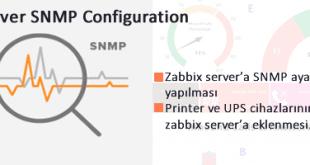 Zabbix Server SNMP Yapılandırması 12