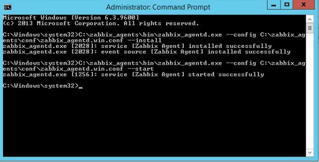 Windows üzerine Zabbix Agent kurulumu 6