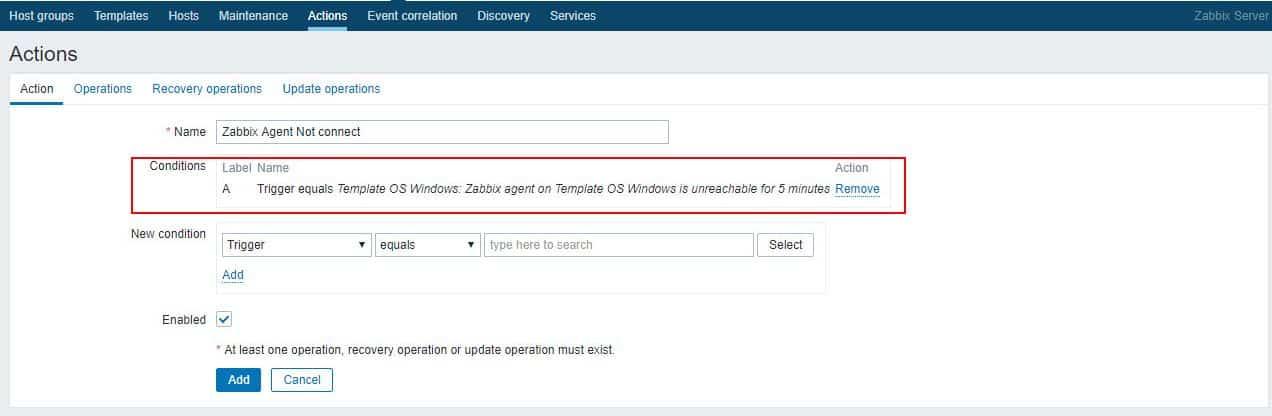 Zabbix E-mail Ayarlarının Yapılandırılması 18