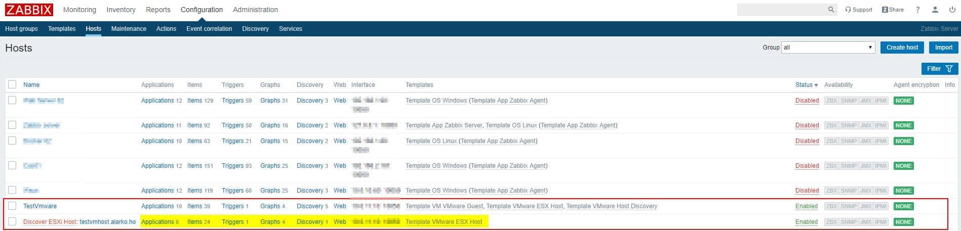 Zabbix Server Vmware Entegrasyonu 7