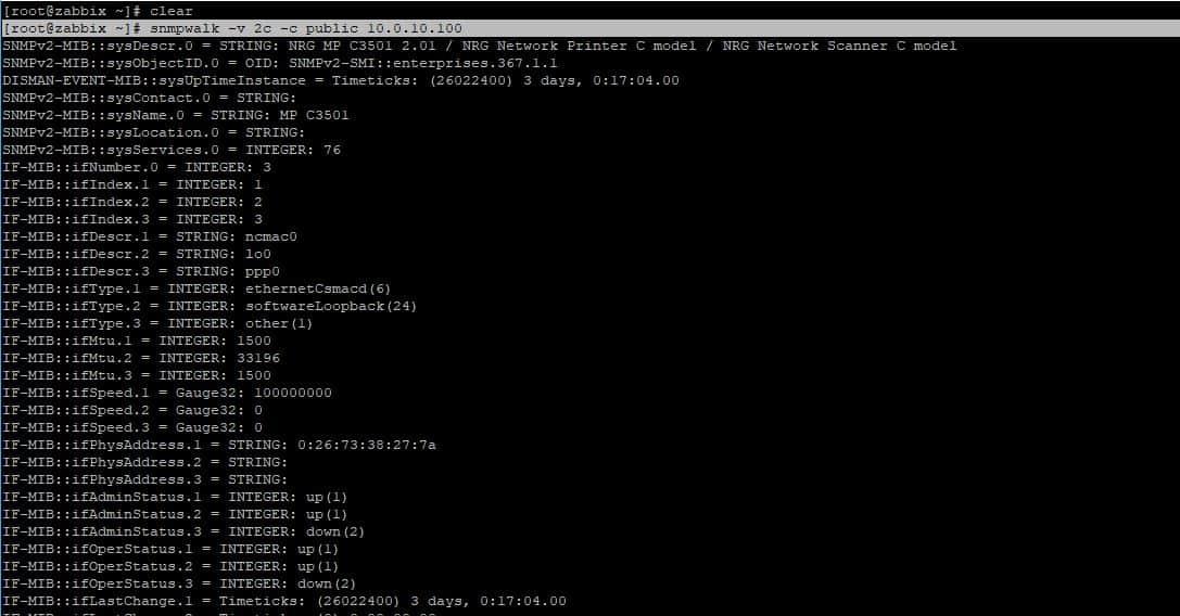 Zabbix Server SNMP Yapılandırması 4