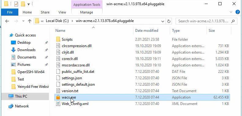 Let's Encrypt on IIS setup and configuration 4